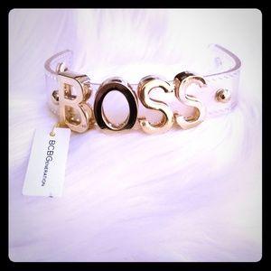 BCBGENERATION BOSS Affirmation Bracelet